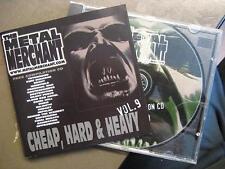 METAL MERCHANT VOL. 9 - CHEAP HARD & HEAVY - METAL MERCHANT RECORDS SAMPLER - CD