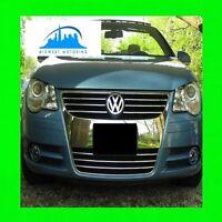 2007-2013 VW VOLKSWAGEN EOS CHROME GRILLE TRIM 2008 2009 2010 2011 2012 WRNTY