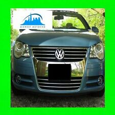2007-2013 VW VOLKSWAGEN EOS CHROME TRIM FOR GRILLE GRILLE 07 08 09 10 11 12 13