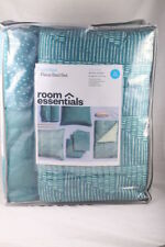 ROOM ESSENTIALS Dorm Bed 7 Piece Bed Set Twin/XL Cloudy Turquoise *NEW IN BAG*