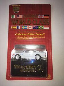 1988 Matchbox - Mercedes AMG 500 - World Class #1 Collectors' Edition Series I