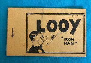 Aa26 Looy Iron Man Tijuana Bible Graphic Fantasy Adult Comic 1930