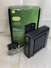 Arris Motorola SBG6580 DOCSIS 3.0 Cable Modem WiFi Router Comcast Spectrum Cox