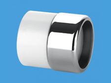 McAlpine Chrome Tuyau évacuation 32 mm 35 mm pour plastique Adaptateur Couplage