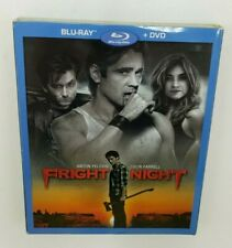 Fright Night (Blu-ray/DVD, 2011, 2-Disc Set) Used