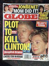 Globe Dec. 25, 2006.  Bill and Hillary Clinton  JonBenet   Dr. Phil   Dreamgirls