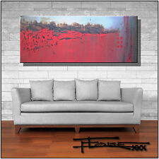 ABSTRACT CANVAS PAINTING Large WALL ART FRAMED listed by artist US ELOISExxx