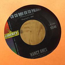 Nancy Ames Cu Cu Rru Cu Cu Paloma / Bonsoir Cher Soul Liberty 55548