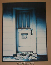 Rob Jones Jack White Los Angeles Poster Print 2014 Signed Numbered