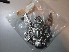 CALVARY ORIG. Post Civil War US  DRESS Eagle Artillery Helmet or Hat Badge PLATE