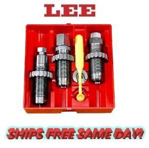 Lee Precision Carbide 3 Die Set 32 S&W  INCLUDES Shellholder # 90696  New!