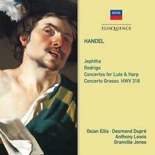 Anthony Lewis Thurston Dart - Handel: Jephtha; Rodrigo; Concertos For L (NEW CD)