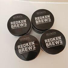 4 Redken for Men Brews Outplay Texture Pomade Maximum Control 3.4 oz Each  NEW