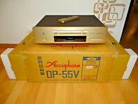 Accuphase DP-55V High-End CD-Player, OVP w.NEU aus 1.Hand, mit FB, 2J. Garantie