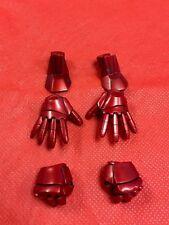 1/6 Hot Toys Iron Man 3 Pepper Potts and Mark IX IRON MAN HANDS JC