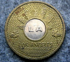 UNITED STATES Los Angeles Transit Authority 1 BASE FARE TOKEN