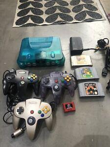 Nintendo 64 Console Plus Games