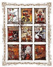 COREA colección 9 Sellos: Historia real de Europa ,La monarquía BX16B