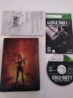 Call of Duty Black Ops II 2 Hardened Edition Steelbook COD Xbox 360 Collectors