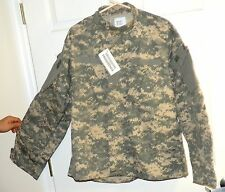 Mens XL 50/50 Jacket cotton poly ripstop wind resistant Digi-camo  8613
