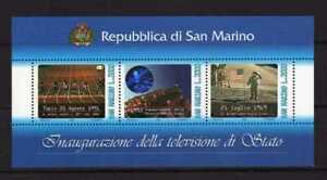 14419) San Marino 1993 MNH S/S - Bf - Television Di State