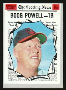 1970 Topps #451 Boog Powell All-Star - Baltimore Orioles - EX-MT