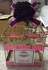 Gold Bird Cage, Wedding Bird Cage