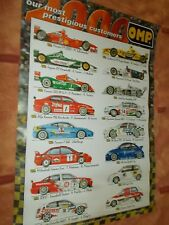 OMP  2000 Motor Sport poster-race/rally/trackday/F1/Touring car