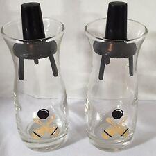 Vintage Bowling Salt & Pepper Shakers Mid Century