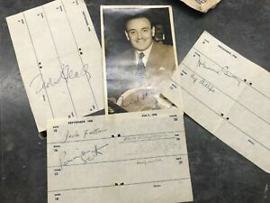 Rare Ronnie Scott with Ted Heath jazz memorabilia