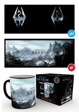 Gaming Elder Scrolls Skyrim Dragon Symbol Coffee Heat Change Mug