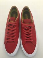 Converse Con Lunarlon One Star Red Leather Low Top Sneakers - Men's Size 10