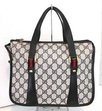 Authentic Vintage GUCCI Boston Speedy Doctor Bag Purse Handbag Tote