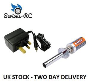 Nitro Glow Plug Starter 1800mah Battery with UK Charger Nitro Engine Glow Start
