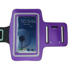 Purple Sports Running Gym Armband Arm Band Case for Samsung Galaxy S5 S4 S3 S2