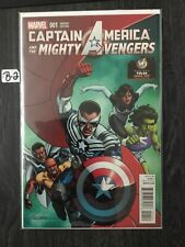Captain America & the Mighty Avengers (2015) 1B NM 9.4 WizardWorld Tulsa Variant