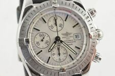 Breitling Chronomat Evolution Men's Watch Automatic 44MM STEEL A13356 White