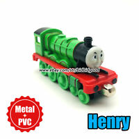 Thomas and His Friends Henry Train Magnet Diecast Model Cars Loose Kids Gift Toy