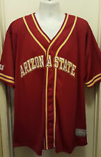 Arizona State Sun Devils New Steve & Barrys College Baseball Jersey Mens XL