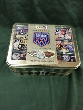 1990 Limited Edition Super Bowl XXV Commemorative Tin ~Unopened~ Chocolates