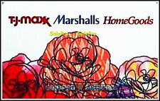 T.J. MAXX USA MARSHALLS HOME GOODS SPRING FLOWERS #6001 COLLECTIBLE GIFT CARD