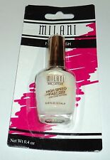 MILANI Nail Lacquer High Speed Fast Dry One Coat Formula WHITE ON THE SPOT 22