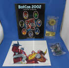 Transformers 2002 Botcon Souvenier Program Resgistration Kit Tap-Out