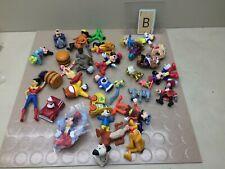 Lot Of Vintage Figures - Disney,  Mickey, Pluto, Sponge Bob, Sesame Street