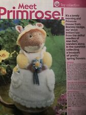 Alan Dart Brambly Hedge Primrose Toy Knitting Pattern