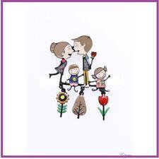 BROCHE famille/fleur beige LOL bijou fantaisie