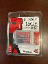 Kingston Ultimate 16 GB 266x CompactFlash Memory Card (CF/16GB-U2)