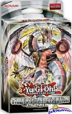 Yugioh Cyber Dragon Revolution Factory Sealed Structure Deck - 42 cards ! Hot !
