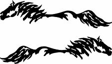 6x24   Horse Pony Decal Truck Trailer Car Graphic 2 piece set