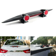 DIY Mini ABS Car Double Lamp Small Airplane Bumper Empennage Model Spoiler Wing